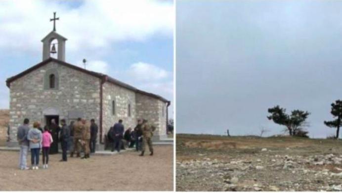 Омбудсмен: Уничтожение армянской церкви после завершения войны в Карабахе – доказательство политики религиозной ненависти режима Алиева