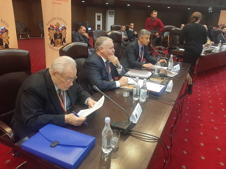 Третье заседание «Лазаревского клуба» 13 декабря 2019 г.